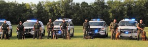Rutherford County Sheriff's Office K-9 Officers
