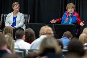Holocaust survivors at MTSU