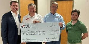 Aladdin Temp-Rite makes $10K donation to the Tennessee Fisher House Foundation