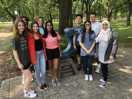 MTSU students in the Medical School Early Acceptance Program