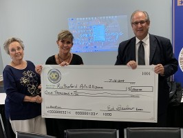 Exchange Clubs of Murfreesboro donation