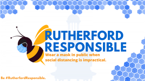 Rutherford Responsible: Wear a mask when social distancing is impractical