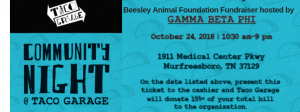 Beesley Animal Foundation