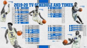 Blue Raider basketball schedule