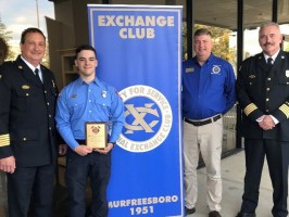 Murfreesboro FireFighter, Advanced EMT of the Year
