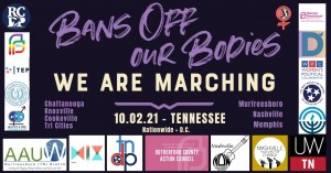 Bans off our bodies. We are marching.