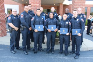 Murfreesbooro Police's newest officers