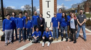MTSU Team No. 2 from the MTSU Experimental Vehicles Program