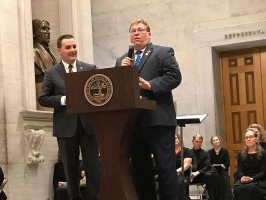 Tim Rudd speaking at the Tennessee General Assembly