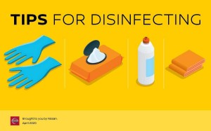 Tips for Disinfecting