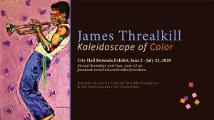 Murfreesboro artist James Threalkill