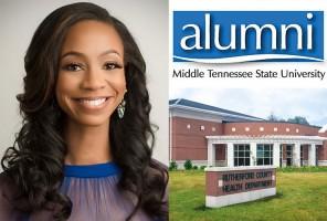 MTSU alumna LaShan Dixon