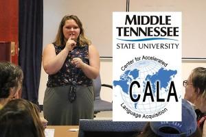 MTSU American Sign Language class