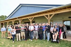 Hop Springs ribbon cutting & grand opening