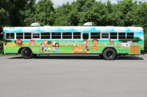 Murfreesboro City School's CHOW Bus