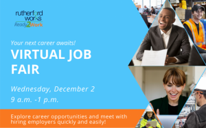 Rutherford Works Virtual Job Fair