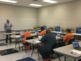 Rutherford County Correctional Work Center mechatronics class