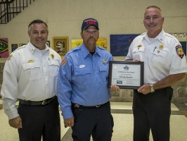Murfreesboro Fire and Rescue Department's 2019 Firefighter of the Year