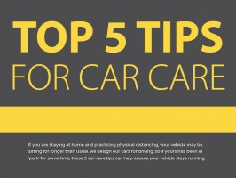 Top 5 tips for car care during quarantine