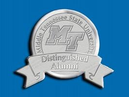 MTSU Distinguished Alumni award