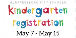 Murfreesboro City Schools Kindergarten Registration
