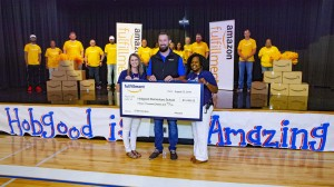 Amazon donation to Hobgood