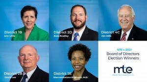 MTE's 2021 Board of Directors Winners