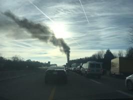 Crash on I-24