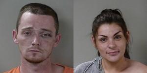 Justin Arwood and Sarah Dalton