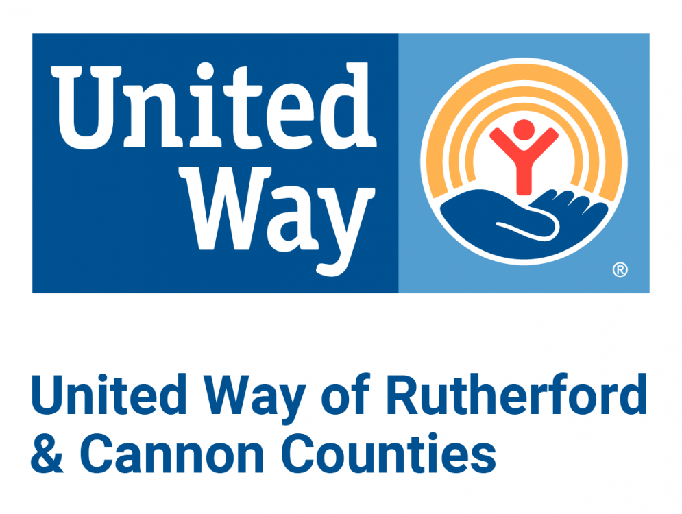 United Way of Rutherford & Cannon Counties Logo.