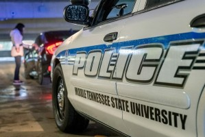 MTSU Police Car