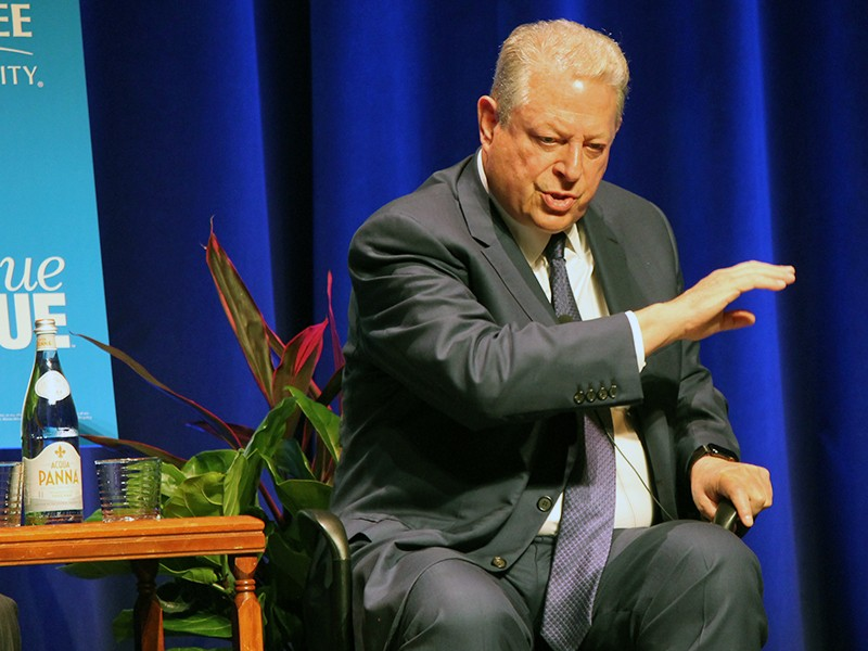 Vice President Al Gore Jr. at MTSU