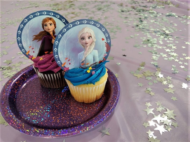 "Discovery Center ""Frozen Fun Themed Party"