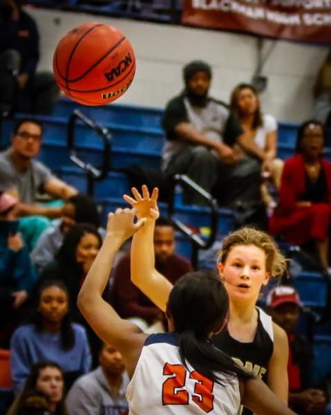 Stone Memorial vs  Blackman High School Girls Basketball